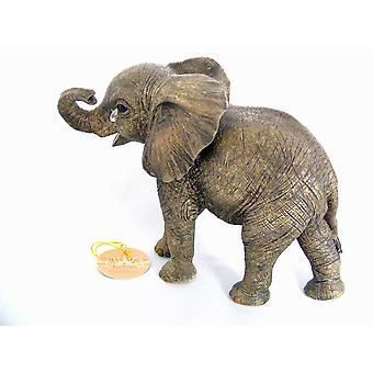 Elephant Teardrop 15cm Figurine By Lesser & Pavey