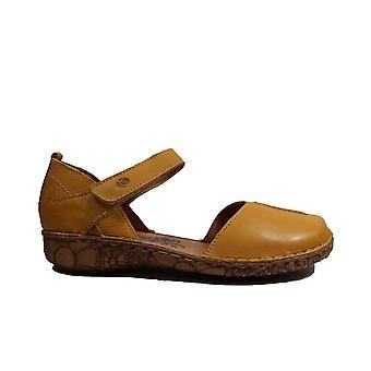 יוזף סייבל רוזלי 42 צהוב עור נשים לקרוע קלטת נעלי קיץ