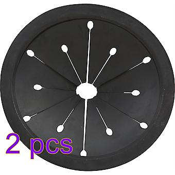 2 Pieces Sink Baffle Replacement For Insink Garbage Disposal Splash Guards