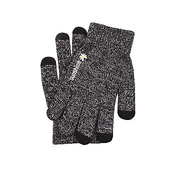 Mănuși pentru degete cu atingere și antiderapant Negru/Gri (L)