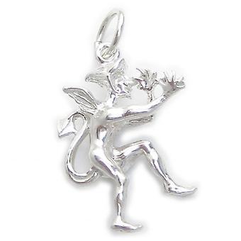 Devils Imp Sterling Zilveren Charm .925 X 1 Naughty Devil Charms - 4827