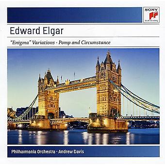 Andrew Davis - Elgar: Enigma Variations Op. 36; Pomp & Circumstance [CD] USA import