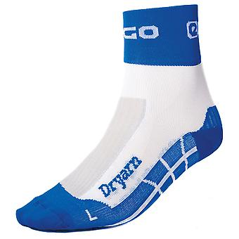 Eigo Dryarn Socks White/Blue - S