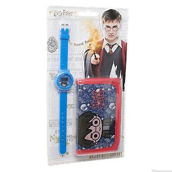 Harry Potter Childrens / Kids Wallet en Horloge Set