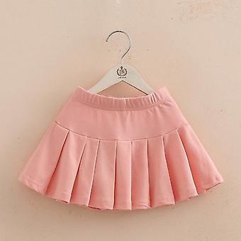 Dziewczyny bawełna plisowana spódnica szorty- taniec ubrania