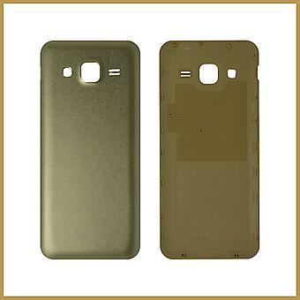 Til Samsung Galaxy J2 Batteri Bagdæksel baghuset J2 2015 J200F J200 J200G/Y/M - Guld