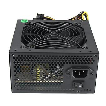 600w Pc Psu Power Supply Gaming Quiet 120mm Fan 20/24pin 12v Atx For Btc