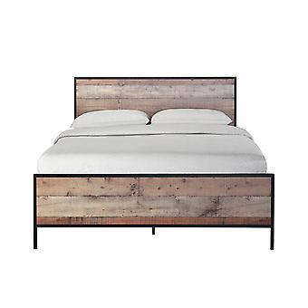 Hector 4.6 Double Bed Oak Effect