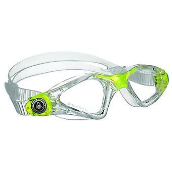 Aqua Sphere Kayenne Junior uimaan suojalasit-läpikuultava/keltainen-selkeä linssi