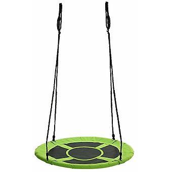 Nest swing grön på 600D polyester 90 cm diameter swing inklusive rep upp till 150 kg