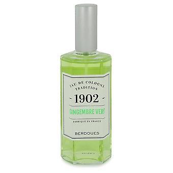 1902 Gingembre Vert Eau De Cologne Spray (Tester) By Berdoues 4.2 oz Eau De Cologne Spray