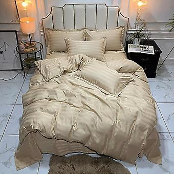 Luxury Satin Silk Duvet Cover Set