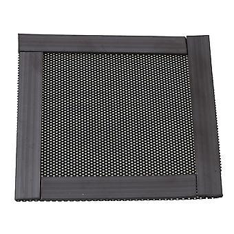 8cm kvadrat svart magnetisme luftfilter støvtett nett for støvforebygging
