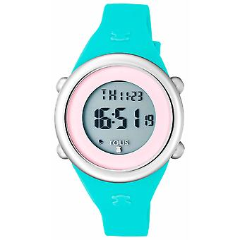 Tous watches soft watch for Digital Quartz Child with Silicone bracelet 800350620