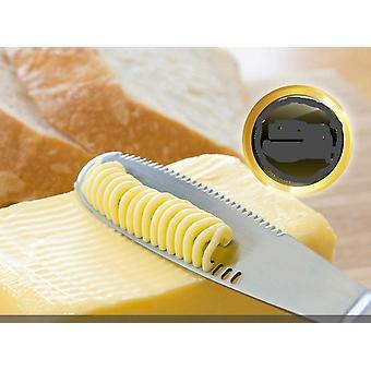 3 In 1 Edelstahl Butter Messer Käse Dessert Streuer