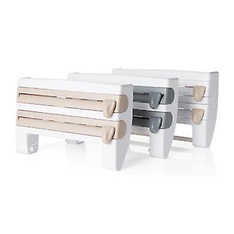 Multifunktionel køkkenholderholder til papirhåndklæder, klæbefilm, aluminiumsfolie osv.