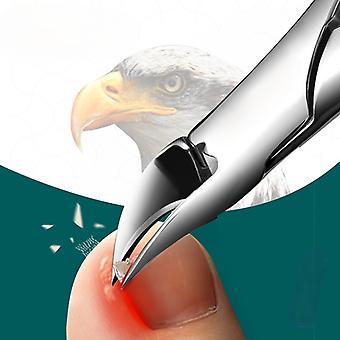 Spiker Clippers inngrodd tånegl cutters pedikyr verktøy anti-Splash Olecran Podiatry Paronychia korreksjon manikyr verktøy
