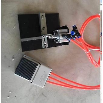 Mini manuell trä Pvc Edge Banding Machine, med cut Pvc Edge Bander Kontroll
