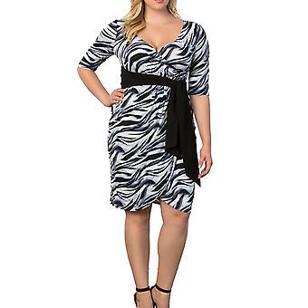 Kiyonna | Harlow Faux Wrap Dress