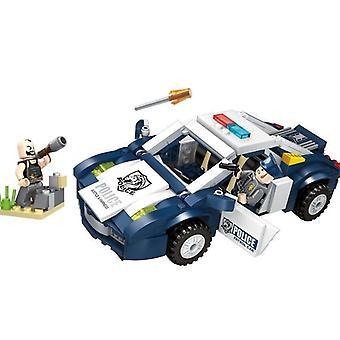 292pcs Enlighten Building Block City Police Demolition Trucks 2 Figures