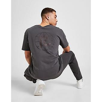 New Rewired Men's Globe T-Shirt from JD Outlet Grey