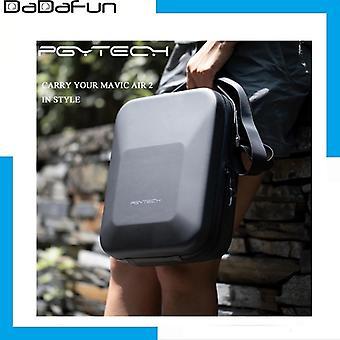 Pgytech dji mavic air 2 eva tvrdá škrupina ramenná taška vodotesná kabelka pre mavic air 2 drone príslušenstvo nosiť puzdro úložný box