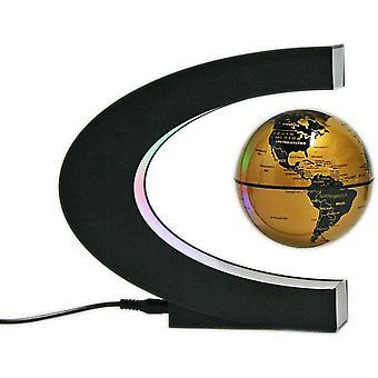 Wokex Globen Licht Magnetische Levitation Schwimmende Globus Weltkarte fr Dekoration (Gold)