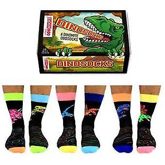 Chaussettes United Oddsocks Dinosocks Novelty