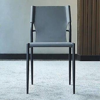 Industrial Furniture Modern Design Luxury Pu Leather Dining Chair