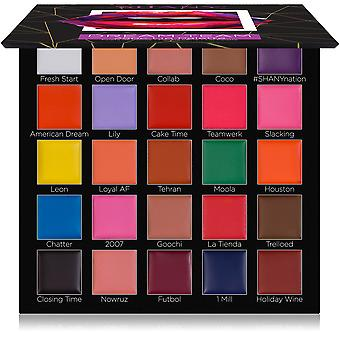 SHANY Dream Team Lip Palette - 25 Cream Lipsticks with 11 Bold Colors, 8 Classic Shades, and 6 Nude Tones with a Matte Finish