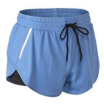 SPORX Women's Running Shorts Light Blue