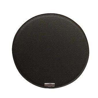 Black double-sided circular woven mat