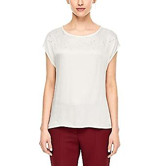 s.Oliver BLACK LABEL 11.912.32.4447 T-Shirt, Ivory (Whipped Cream 0220), 42 (Size Manufacturer: 36) Woman