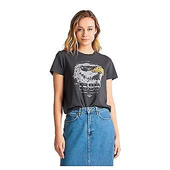 Lee Summer Tee T-Shirt, Nero delave, XS Donna