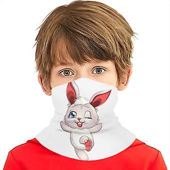 Children Cartoon Rabbit Multifunctional Headscarf