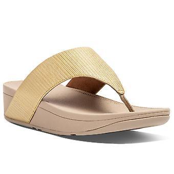 FitFlop™ Olijf Getextureerde Glitz Dames Sandalen