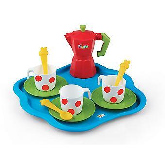 None Pimpa Koffieset met Dienblad voor kinderen