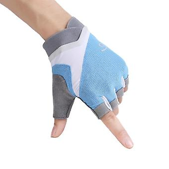 Gym Gloves, Women Weight Lifting Crossfit Workout Fitness Glove, Breathable,