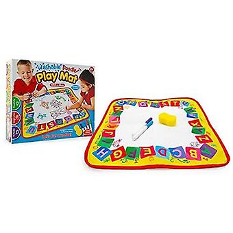 Doodle Washable Activity Play Mat With 4 Washable Marker Pens