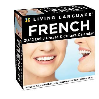 Levande språk franska 2022 DaytoDay Kalender av Random House Direct