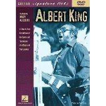 Albert King  Guitar Signature Licks DVD by Albert King