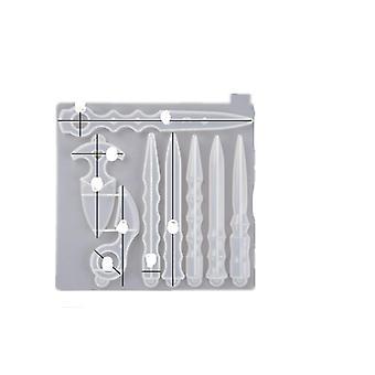 Dagger Diy Uv Resin Jewelry Molds Handcraft Epoxy Jewelry Tools Magic Wand