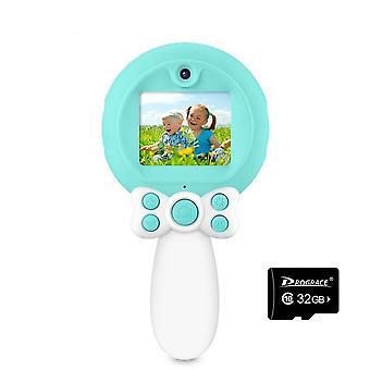 Prograce 8mp Photo Dual Lens Digital Selfie Camera Kid Toy
