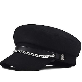 Autumn/ Winter, Wool Military Berets Hat