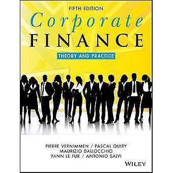 Corporate Finance by Pierre VernimmenPascal QuiryMaurizio DallocchioYann Le FurAntonio Salvi
