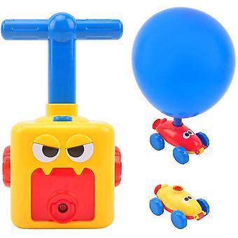 Kinder Ballon Auto Spielzeug,Children Inertial Power Ball Car,pädagogische DIY Spielzeug Trägheit