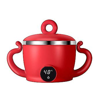 Rechargeable Food Warmer Bowl Baby Food Heater Insulation Baby Feeding Food Container Children's