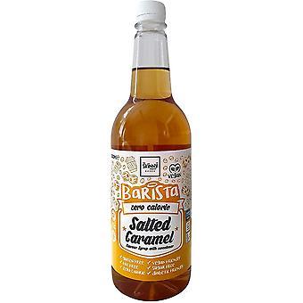 De Skinny Food Co. Barista Zero Calorie Syrup, Gezouten Karamel, 1000 ml, Ideaal voor vetarme diëten en gewichtsverlies