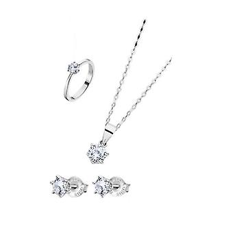 Lotus jewels gift set - necklace, earrings & ring size 12 lp3117-6_312