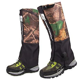 1 Pair snake gaiters outdoor camouflage snake gaiter hiking shoes waterproof wear-resistant protection leg guard boot comfor